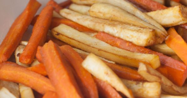 Roasted carrots and parsnips, Roasted carrots and Spicy on Pinterest