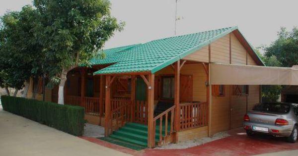 Ref 9044 alquiler de gran bungalow de madera en camping - Bungalow de madera ...