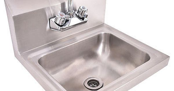 Stainless Steel Hand Wash Sink Washing Wall Mount Commercial Kitchen Heavy Duty Sinks For Sale Commercial Kitchen Sinks Commercial Kitchen