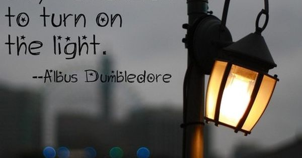 Harry Potter quote, Albus Dumbledore.