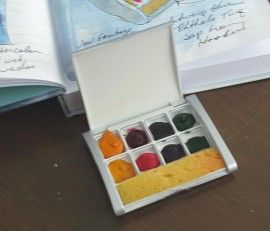 New Mini Watercolor Palette Watercolor Palette Watercolor Kit