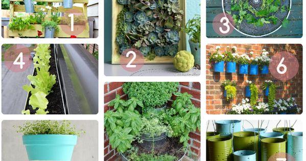 Inspiration Diy Tutos Et Id Es D Co Pour Un Jardin De Balcon Vintage Blog Et D Co