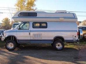 Airstream Class B Boulder Offroad 4x4 Conversion Cool Vans