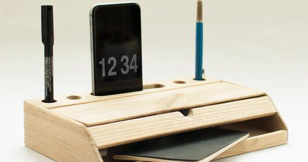 Desk Organizer Mobile Phone Stand Iphone 6 Dock Desktop