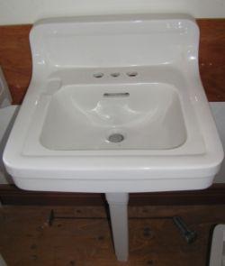 Ps12122 Crane Norwich Sink Click Image To Close Sink Pedestal Sinks Shower Drains