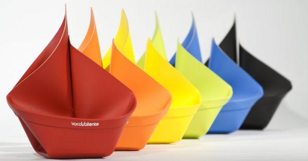 Organizador de escritorio en cuero reciclado inspirado en - Organizador de papeles ...