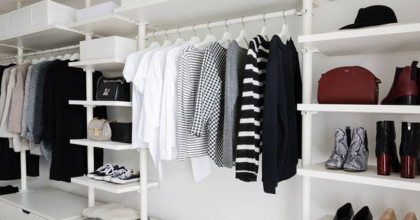 ankleidezimmer offener kleiderschrank ikea stolmen. Black Bedroom Furniture Sets. Home Design Ideas