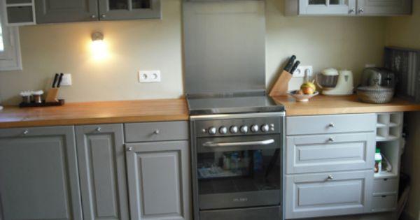notre cuisine avant / après | white quartz countertops, quartz