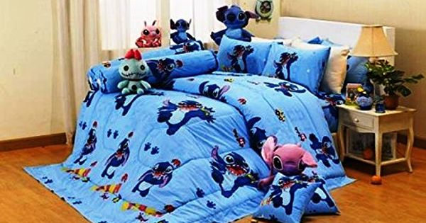 lilo and stitch bedroom lilo amp stitch ultra soft bed fitted sheet set 5 15904