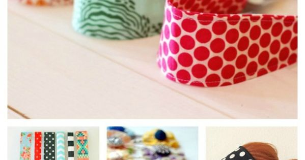 Craft Project Ideas: 25 DIY Hair Accessories to Make Now!
