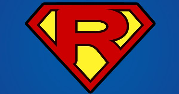 Superman Logo with a R | logo - mobile9 | what I hope to ...