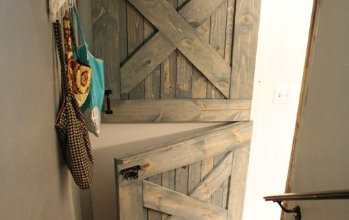 Dutch Door DIY Plans Barn door Baby or Pet gate, with the
