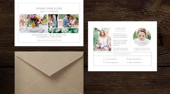 Photography Mini Session Template - Open House Flyer - Digital - open house flyer