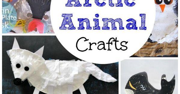 20 arctic amp antarctic animal crafts for kids arctic