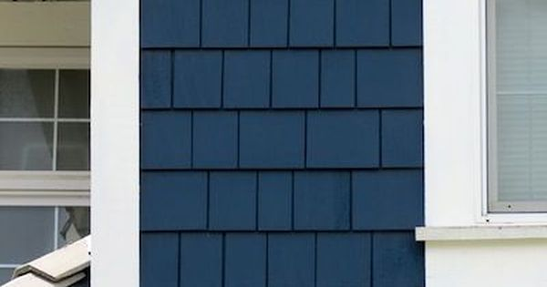 Navy Blue Siding Or Shake Would Make Any Home Stand Out