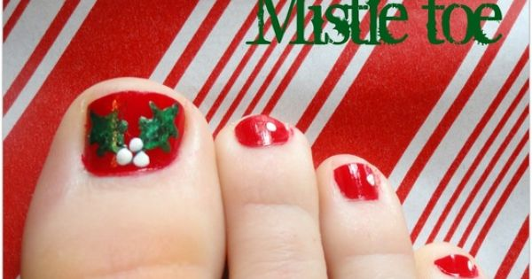 "Lots of creative Christmas ideas! Mistle""toe""! Get it? hehe"