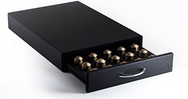 Artefakt Fortress Nespresso Capsule Storage Drawer 40 Pod Capacity