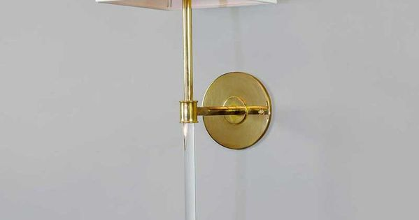 Metro Wall Sconce Urban Electric : Urban Electric Co. wall sconce. Material: Lucite Pinterest Wall sconces, Urban and Quartz