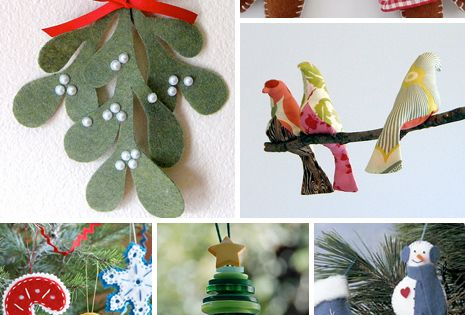 Handmade Christmas Ornaments! I seriously can't get enough of handmade ornaments. Every