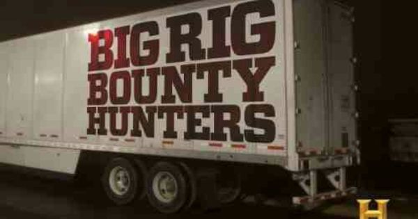 Big rig bounty hunters television pinterest