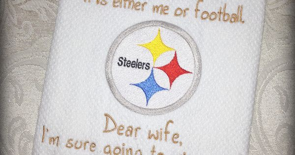 Nfl Inspired Kitchen Towel Steelers Home Decoration