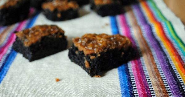 caramel sea salt brownies   Yum, desserts   Pinterest   Sea Salt ...