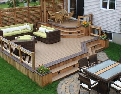 20 timber decking designs that can append beauty of your homes wood deck designs deck design - Deck designs for small spaces style ...