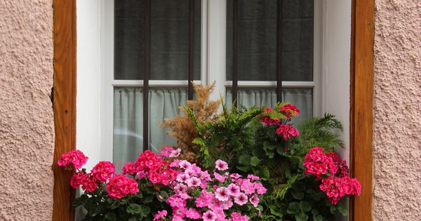 Balconi fioriti in val pusteria le mie montagne - Fioriere per davanzale finestra ...