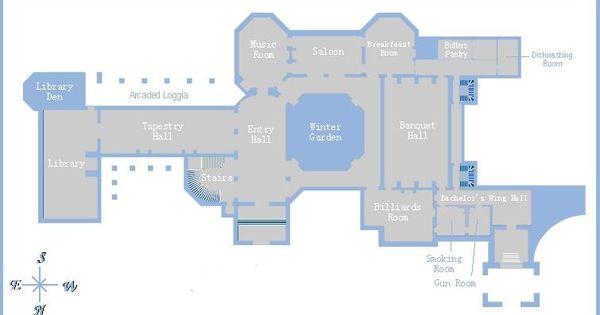 Biltmore estate 1st floor gilded era mansion floor plans for Biltmore estate floor plan
