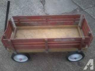 2nd Chance Original Vintage Wooden Radio Flyer Wagon 75 Radio Flyer Wagons Radio Flyer Radio