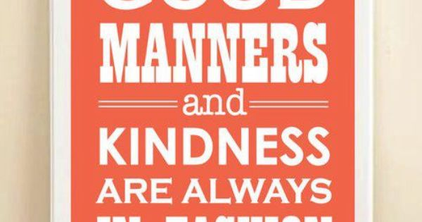 essay on good manners for class 6