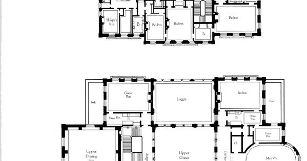 The Breakers Second And Third Floors Floor Plans