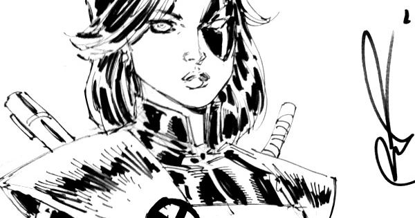 domino sketch by rob liefeld