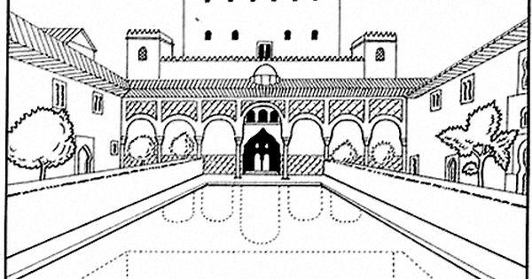 Patio De Los Arrayanes Dia De Andalucia Andalucia Alhambra De Granada