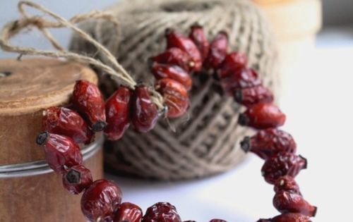 Heart Shaped Cranberry Wreath