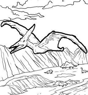 Malvorlage Pteranodon Dinosaurier Malvorlagen Ausmalen Ausmalbild