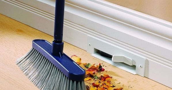 Great ideas for new house! Two words: VACUUM BASEBOARDS. | 31 Insanely