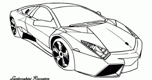 nice thumb Cars coloring page Lamborghini Reventon Free