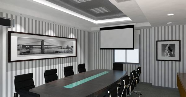 Oniria sala de reuniones oficinas ideas pinterest for Mesa sala de reuniones