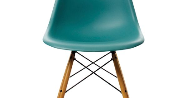 charles ray eames chaise dsw bleu oc an erable vitra. Black Bedroom Furniture Sets. Home Design Ideas