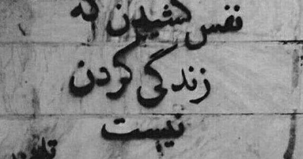 نفس کشیدن که زندگی کردن نیست Drawing Quotes Persian Quotes Friends Quotes