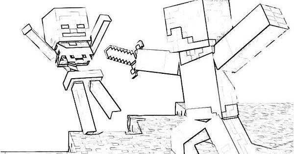 minecraft ausmalbilder ausmalbilder