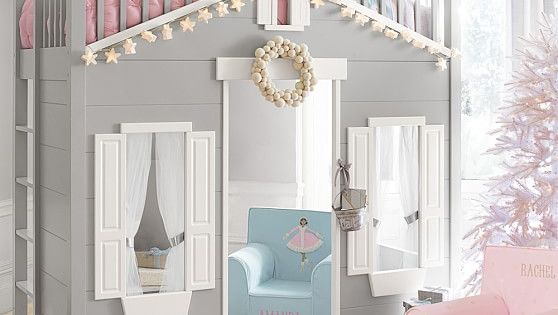 Playhouse Loft Bed Pottery Barn Kids Kids Room
