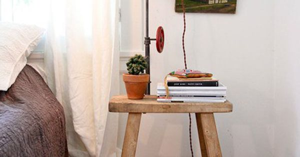 Bedside table tableau. (Interior design, home decor, fun, creative, ideas, inspiration, amazing,