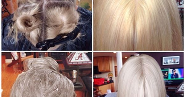 Learn HOW TO take your client from golden to icy blonde in