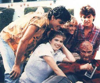 Nightmare On Elm Street 1984 Nancy Actor List Of A Nightmare On