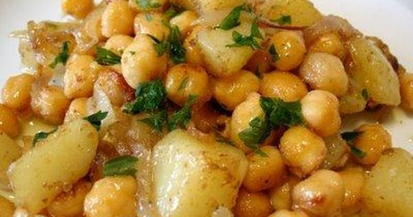 Garbanzos al curry es una receta para 4 personas del tipo for Cocinar 20 minutos