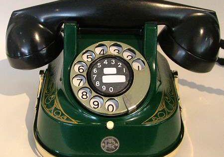 Art Deco Belgian Telephone Vintage Telephone Art Deco Deco