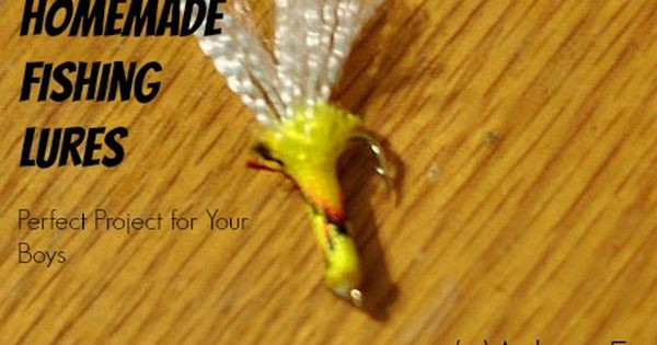great project for boys: homemade fishing lures | homemade, the o, Hard Baits