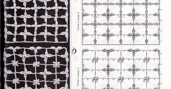 Openwork / crochet pattern H?kelmuster Openwork / crochet patterns ...